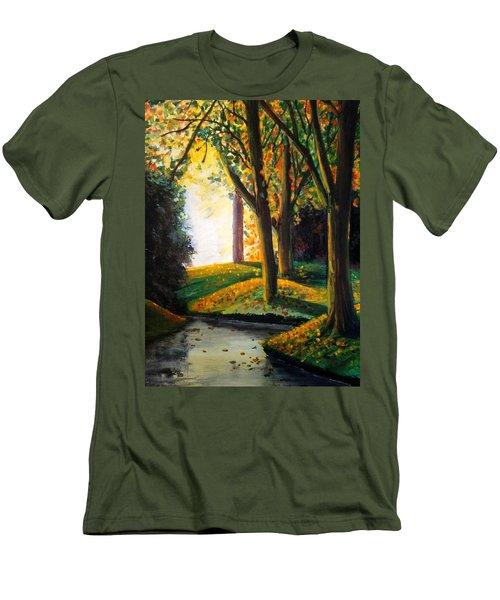Vale Park  Men's T-Shirt (Athletic Fit)