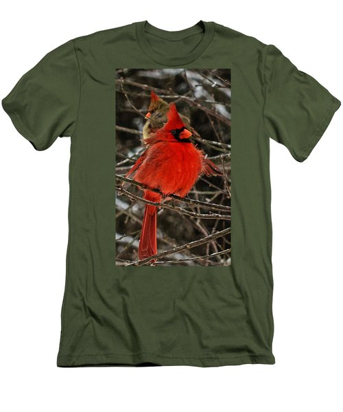 Men's T-Shirt (Slim Fit) featuring the photograph Valentines by John Harding