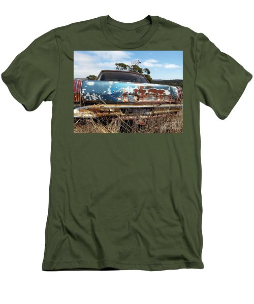Men's T-Shirt (Slim Fit) featuring the photograph Valiant View by Stephen Mitchell