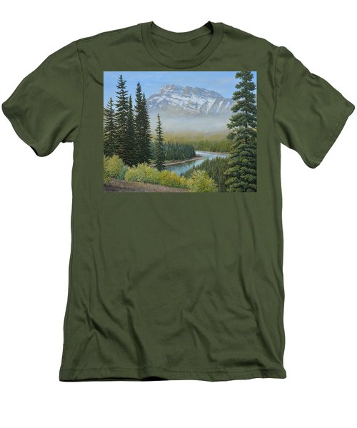 Valley Floor Men's T-Shirt (Athletic Fit)