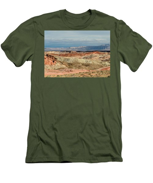 Valley Of Fire, Nevada Men's T-Shirt (Athletic Fit)