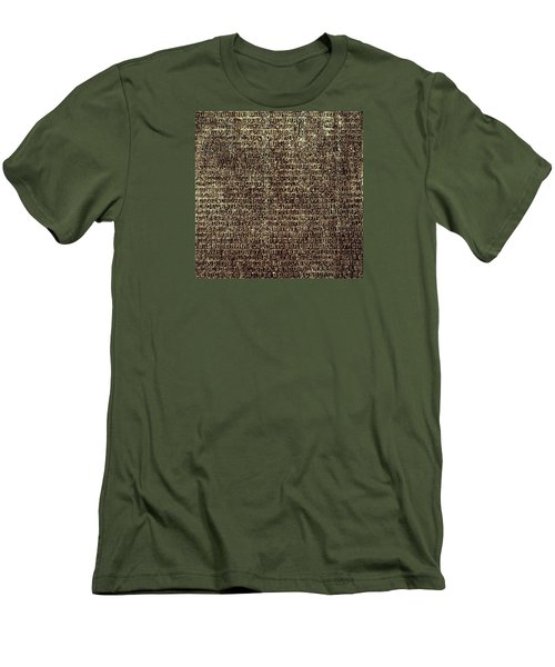 Men's T-Shirt (Athletic Fit) featuring the photograph Venetian Babel by Anne Kotan