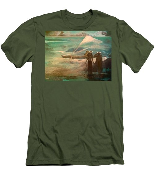 Vento Alle Hawaii Men's T-Shirt (Athletic Fit)