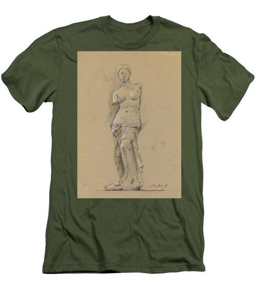 Venus De Milo Men's T-Shirt (Slim Fit)