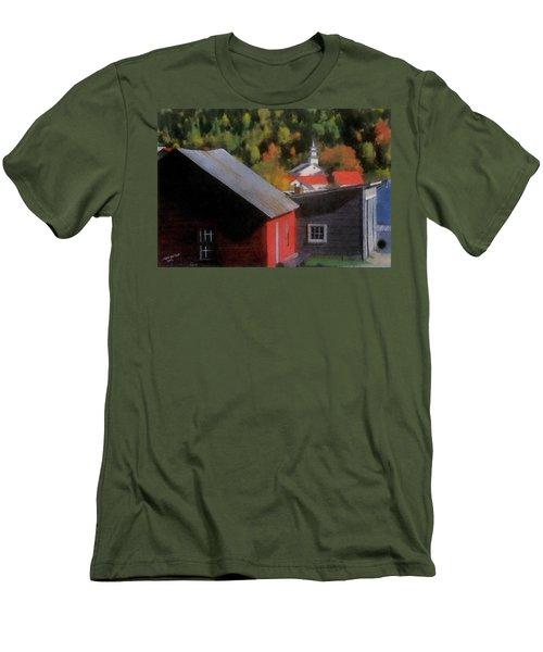 Vermont Again Men's T-Shirt (Athletic Fit)