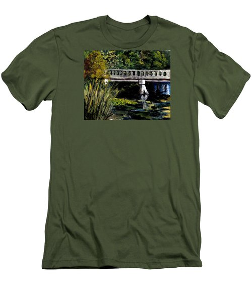 View From Phillips' Park Men's T-Shirt (Slim Fit) by Jim Phillips