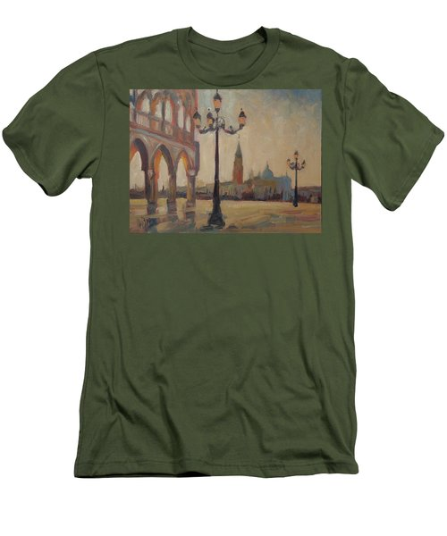 View From The Doge Palace Men's T-Shirt (Athletic Fit)