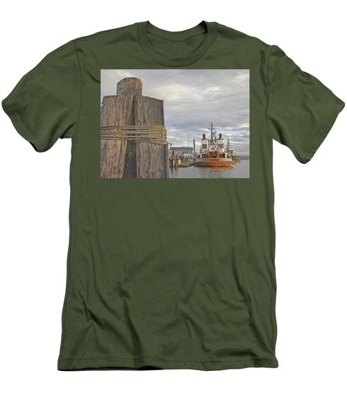 View From The Pilings Men's T-Shirt (Athletic Fit)