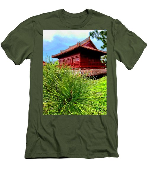 View Of Murasaki Mura, Okinawa. Men's T-Shirt (Athletic Fit)