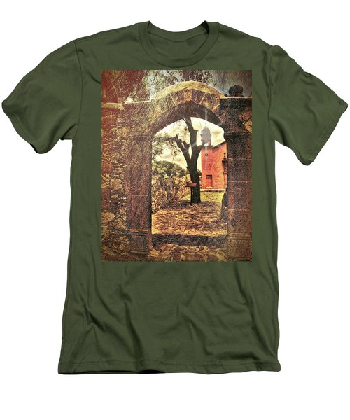 View To The Past Men's T-Shirt (Athletic Fit)
