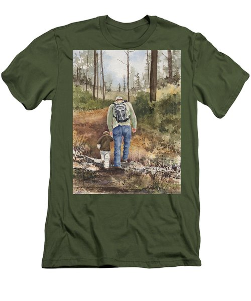Vince And Sam Men's T-Shirt (Slim Fit) by Sam Sidders