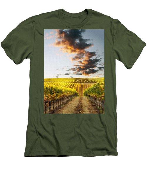 Vineard Aglow Men's T-Shirt (Athletic Fit)