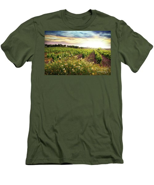 Vineyard Men's T-Shirt (Athletic Fit)