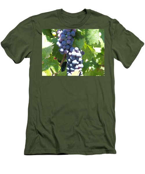 Vino On The Way Men's T-Shirt (Athletic Fit)
