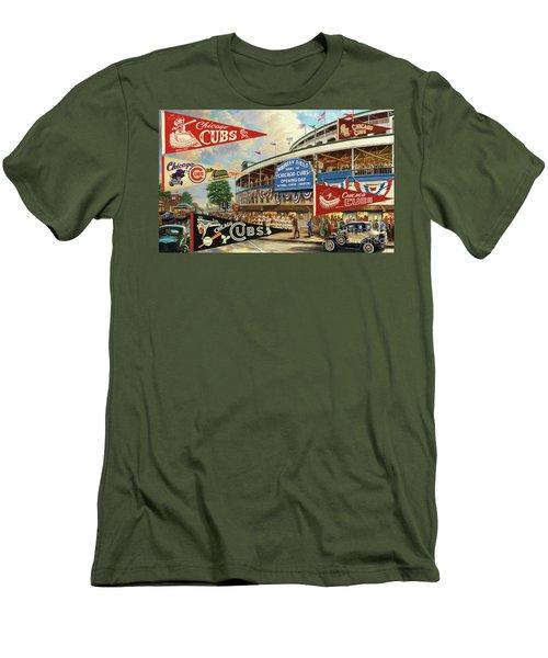 Vintage Chicago Cubs Men's T-Shirt (Athletic Fit)