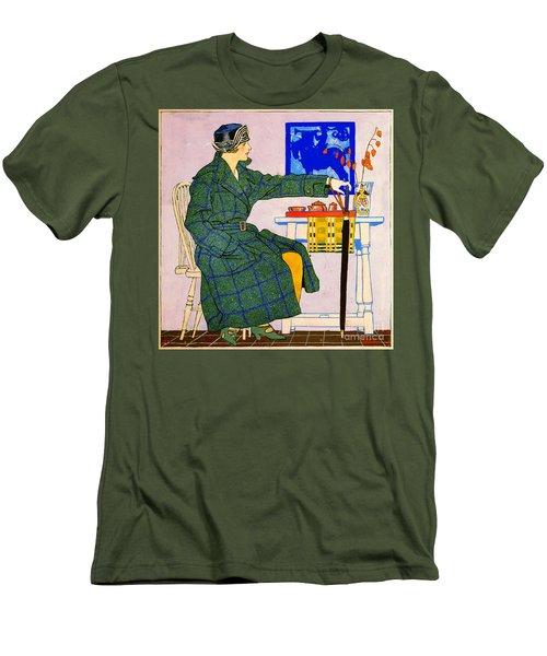Vintage Clothing Advertisement 1910 Men's T-Shirt (Slim Fit) by Padre Art