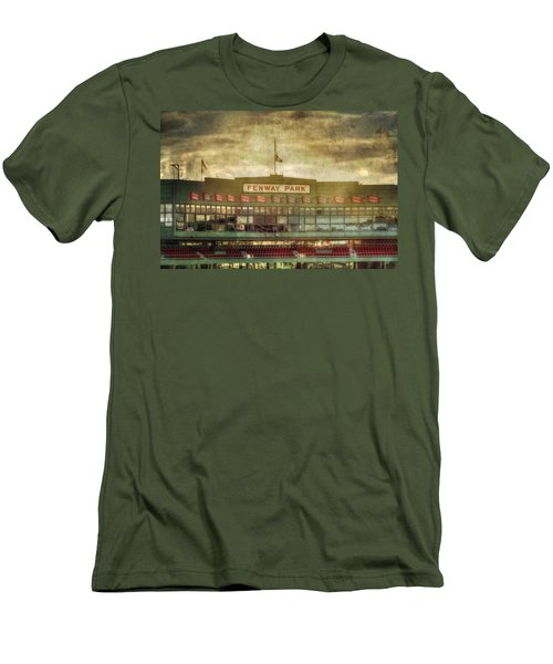 Vintage Fenway Park - Boston Men's T-Shirt (Slim Fit) by Joann Vitali