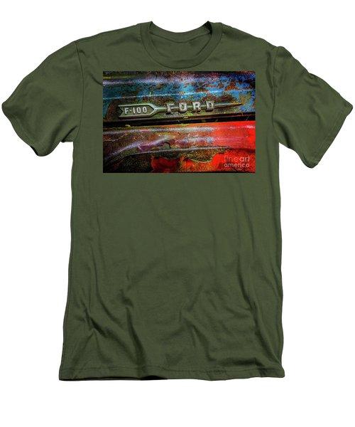 Vintage Ford F100 Men's T-Shirt (Athletic Fit)
