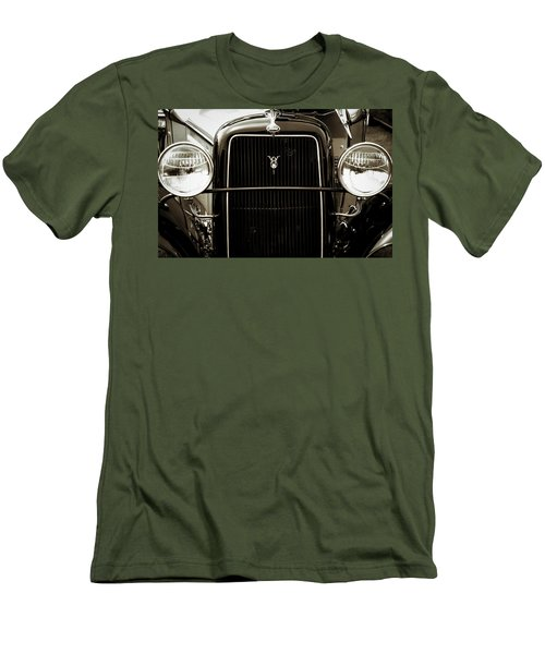 Vintage Ford V8 Men's T-Shirt (Athletic Fit)