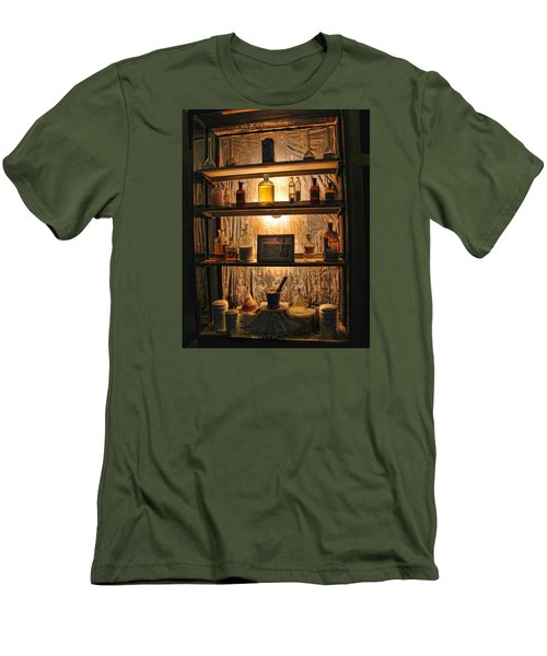Vintage Medicine Cabinet Men's T-Shirt (Athletic Fit)