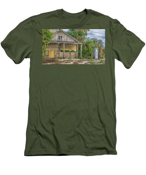 Vintage Orange Stand Men's T-Shirt (Athletic Fit)
