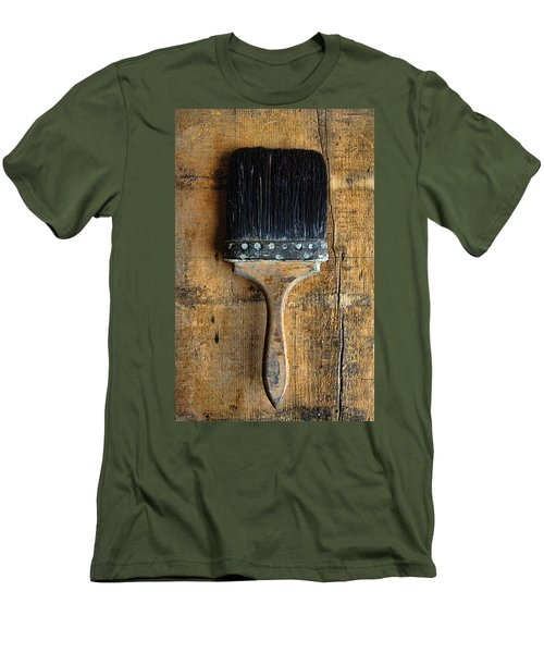Vintage Paint Brush Men's T-Shirt (Athletic Fit)