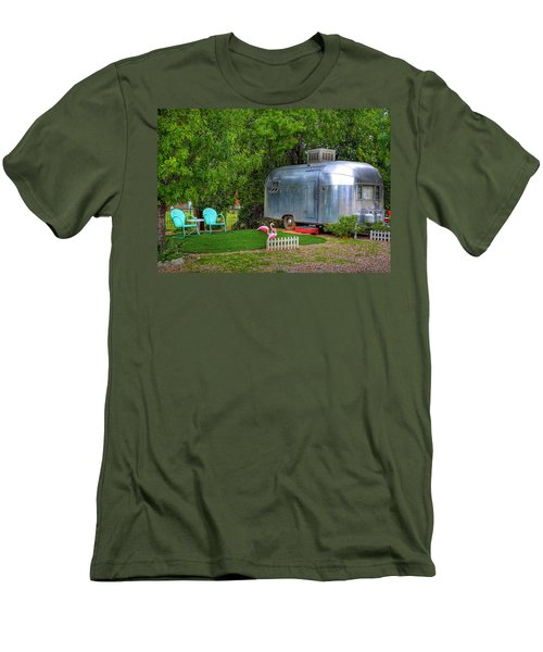 Vintage Trailer Men's T-Shirt (Athletic Fit)