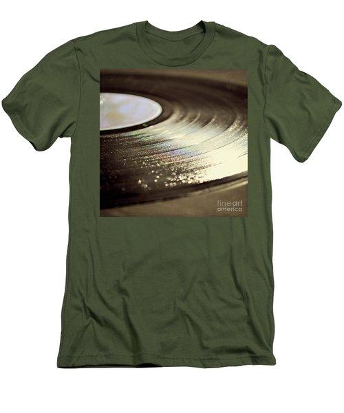 Vinyl Record Men's T-Shirt (Athletic Fit)