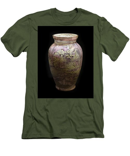 Violet Vase Men's T-Shirt (Athletic Fit)