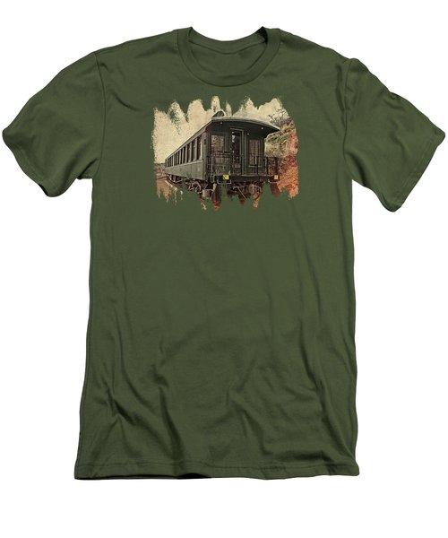 Virginia City Pullman Men's T-Shirt (Slim Fit) by Thom Zehrfeld