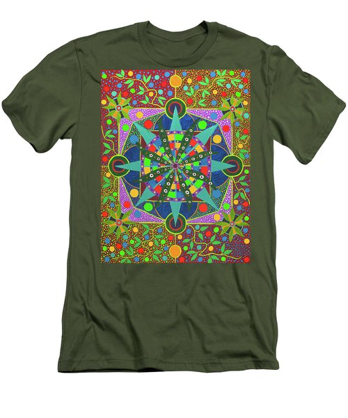 Vision - The Dna Of Plants Men's T-Shirt (Athletic Fit)