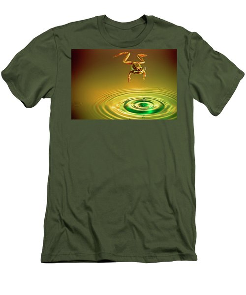 Men's T-Shirt (Slim Fit) featuring the photograph Vision by William Lee