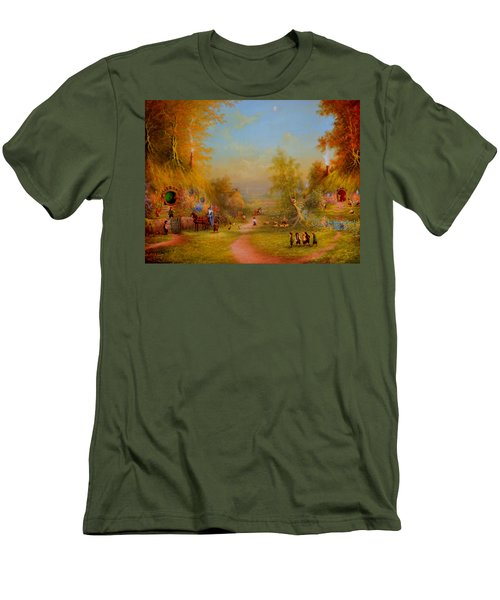 Visit From An Old Friend Men's T-Shirt (Athletic Fit)