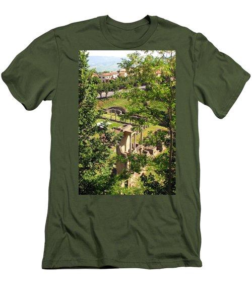 Volterra's Roman Ruins Men's T-Shirt (Athletic Fit)