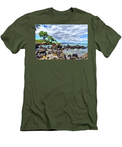 Wailea Beach #2 Men's T-Shirt (Athletic Fit)