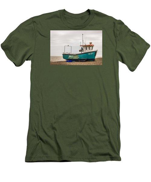 Waiting For Water Men's T-Shirt (Slim Fit) by David Warrington