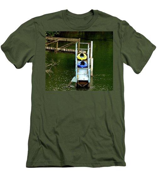 Waiting To Kayak Men's T-Shirt (Athletic Fit)