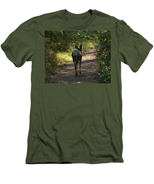 Walk On Men's T-Shirt (Athletic Fit)
