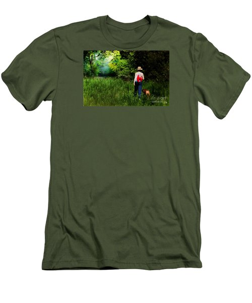 Walking Men's T-Shirt (Athletic Fit)
