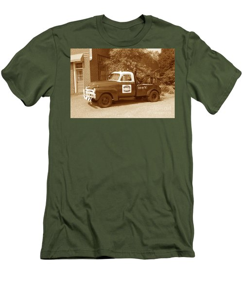 Men's T-Shirt (Slim Fit) featuring the photograph Wally by Eric Liller
