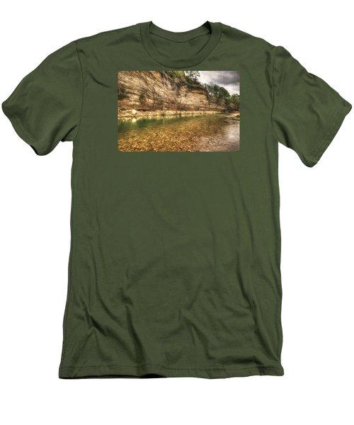 War Eagle Bluff Men's T-Shirt (Athletic Fit)