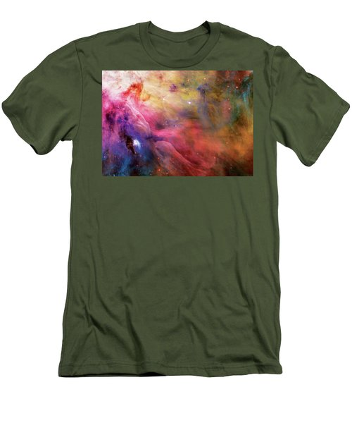 Warmth - Orion Nebula Men's T-Shirt (Athletic Fit)