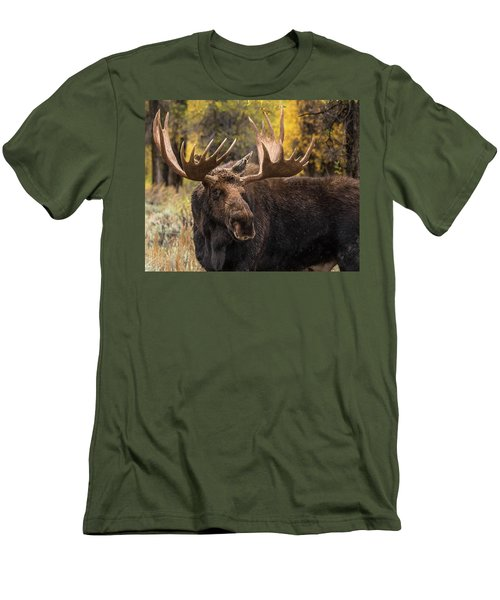 Washakie In The Autumn Beauty Men's T-Shirt (Athletic Fit)