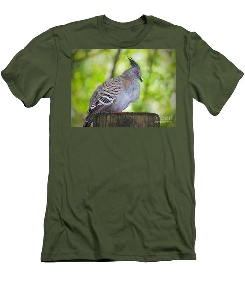 Watchful Eye Men's T-Shirt (Slim Fit) by Judy Kay