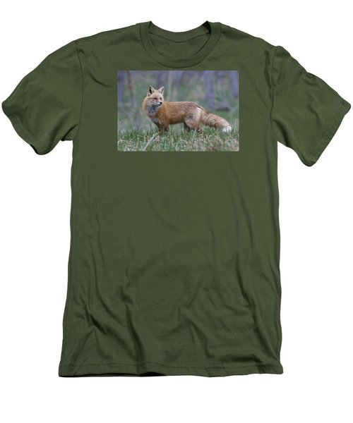Men's T-Shirt (Slim Fit) featuring the photograph Watchful by Gary Lengyel