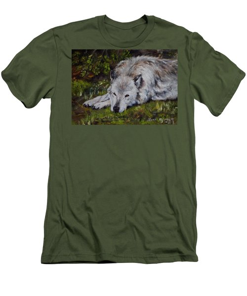 Watchful Rest Men's T-Shirt (Athletic Fit)