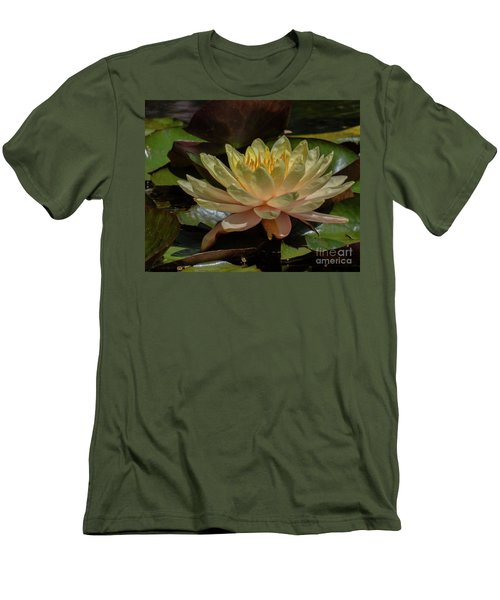 Water Lilly 1 Men's T-Shirt (Athletic Fit)