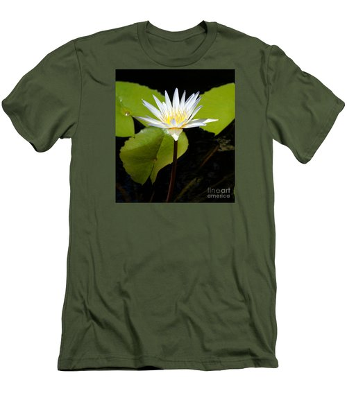 Water Lily 1 Men's T-Shirt (Athletic Fit)