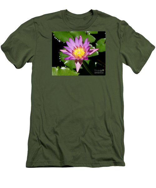 Water Lily 8 Men's T-Shirt (Athletic Fit)