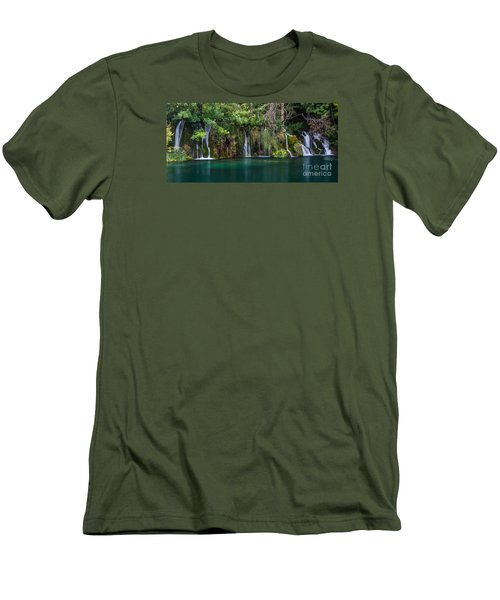 Waterfalls Men's T-Shirt (Athletic Fit)